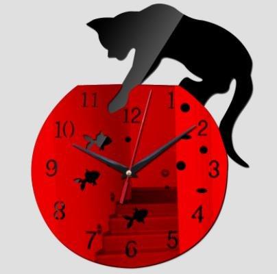 2017 new wall clock hot sale real clocks reloj de pared modern design qua living room needle acrylic europe horloge - Hours Edinburgh Outlet