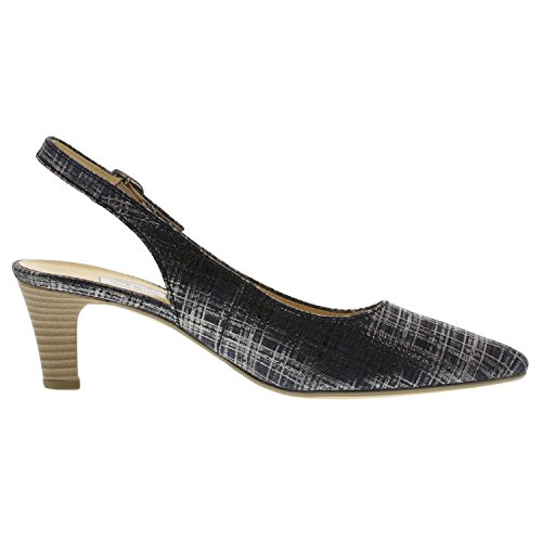 Gabor 61.550.36 - Sandalias de vestir de Piel para mujer Azul