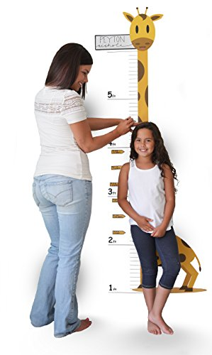 - Oversize Planner by ABI Digital Solutions Growth Chart Wall Decal - Growth Chart Giraffe - Low-Tac Removable Adhesive