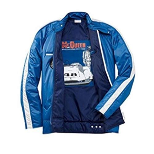 Porsche Design Male Racing Jacket Steve McQueen Collection L Blue ()