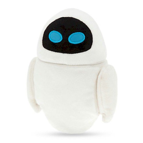 Plush Eva - Disney EVE Plush - Mini Bean Bag - 7''