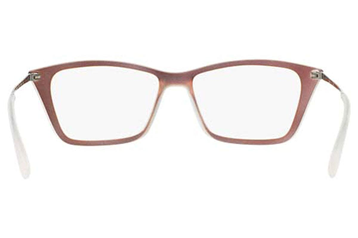 2155961e2c18 Amazon.com  Ray-Ban Women s RX7022 Eyeglasses Iridescent Red 54mm  Shoes