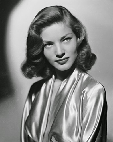 (Gatsbe Exchange Lauren Bacall Short 1940s Hairstyle Hollywood Celebrity Vintage Old Photo 8 x)