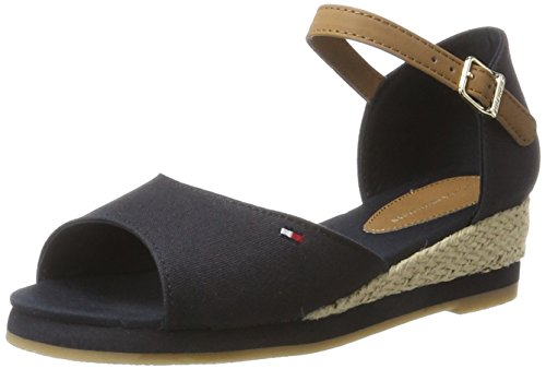 Sandales Midnight Bleu Hilfiger Ouvert Bout K3285ristin Tommy 403 5c1 Fille CtUnHxq
