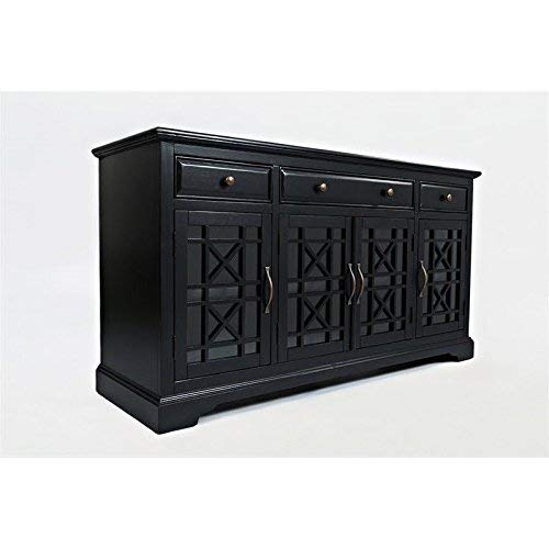 Black Cabinet Antique Media (Jofran Craftsman 60