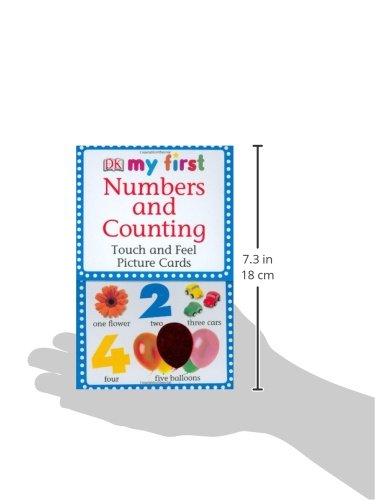 My First Touch & Feel Picture Cards: Numbers & Counting (MY 1ST T&F PICTURE CARDS) by DK Preschool (Image #4)