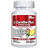 Top Secret Nutrition L-Carnitine Plus African Mango, 60 Count