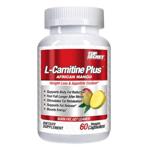 UPC 855659004776, Top Secret Nutrition L-Carnitine Plus African Mango, 60 Count