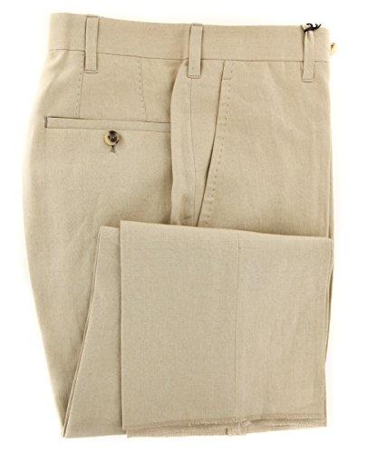 cesare-attolini-cream-solid-pants-30-46