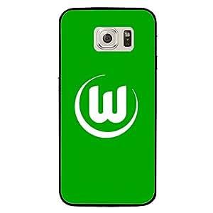 Hot Design VfL Wolfsburg Phone Case Cover For Samsung Galaxy s7 VfL Wolfsburg Logo Luxury Pattern