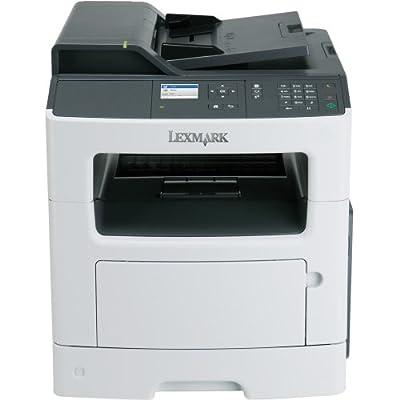Lexmark International, Inc - Lexmark Mx410de Laser Multifunction Printer - Monochrome - Plain Paper Print - Desktop - Copier/Fax/Printer/Scanner - 40 Ppm Mono Print - 1200 X 1200 Dpi Print - 40 Cpm Mono Copy - Touchscreen - 1200 Dpi Optical Scan - Automat