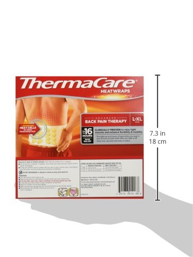 Thermacare Heatwraps Lower Back & Hip, L-XL-6 Count by ThermaCare (Image #3)