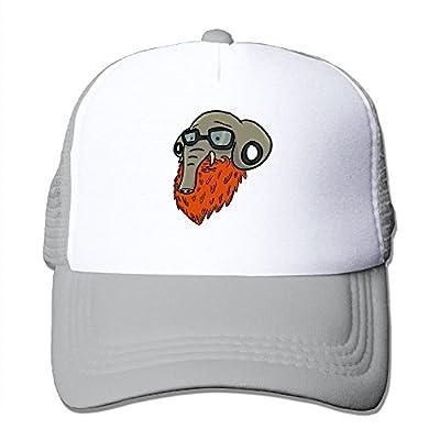 Hipster Elephant Baseball Cap Adjustable Snapback Custom Mesh Trucker Hat from Swesa
