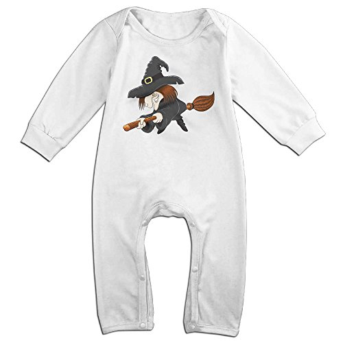 Vinda Cute Halloween Witch Jumpsuit For Infant White Size 18 Months (Cute Girl Nerd Costumes Halloween)