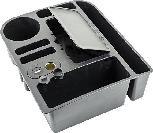 Custom Accessories 91135 12V and 2.4A USB Power Caddy Organizer