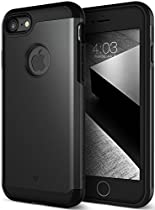 iPhone 7 Case, Caseology [Titan Series] Heavy Duty Protection Defense Shield [Matte Black] [Elite Armor] for Apple iPhone 7 (2016)