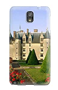 Hard Plastic Galaxy Note 3 Case Back Cover,hot Chateau De Langeais France Case At Perfect Diy