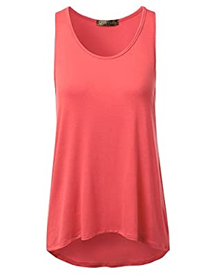 DRESSIS Basic Loose Fit Tank Top S-3XL (15 Colors)