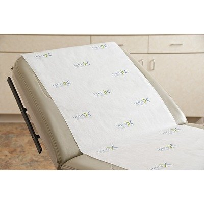 Inhibx™ Antimicrobial Exam Table Paper Roll in White Size: 18'' H x 125' D