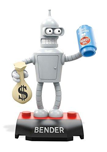 MEGA CONSTRUX HEROES Futurama Bender Robot Building Block Figure