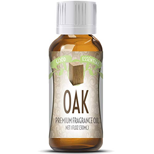 Oak Scented Oil by Good Essential (Huge 1oz Bottle - Premium Grade Fragrance Oil) - Perfect for Aromatherapy, Soaps, Candles, Slime, Lotions, and More! - Oak Fragrance Oil
