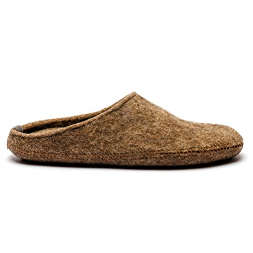 Slip Hypoallergenic Non Insole Wool Natural Women's with You Rubber with Made Arch Support Slippers For Sole vqwRf7axO