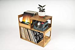 Vinyl Record end Table // Stash Your Wax...