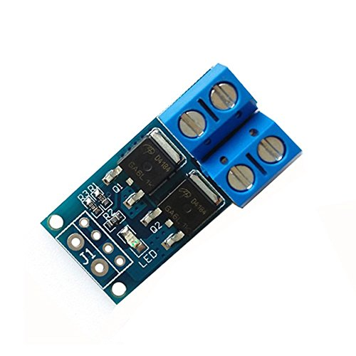 No Zif Socket (WINGONEER 15A 400W MOS FET Trigger Switch Drive Module PWM Regulator Control Panel)