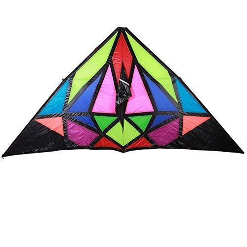 (Kite,Flying Spring Toy Diamond Large Kite, 544 Umbrella Cloth Carbon Fiber Adult Kite (Easy to Fly) Kite line Wheel Puller Multi-Style)