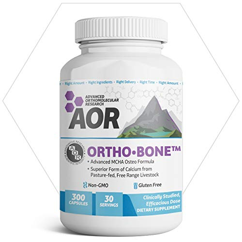 AOR, Ortho Bone, Nutritional Support for Foundational Health and Energy, Multivitamin and Mineral Supplement, 30 Servings (300 Capsules)