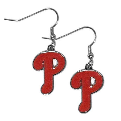 llies Dangler Earrings (Phillies Gear)
