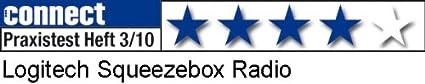 Logitech Squeezebox WLAN-Radio schwarz