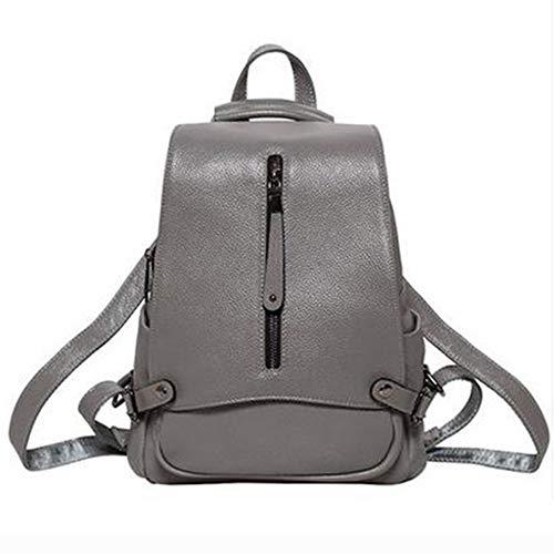 Cuir Sac Main Sac 13 Bag à Sac Epaule Femme Dos Grey 30cm A Bandoulière à Mode Porté 26 Sac à Sac Travel Cartable Dos Sacs R67tII