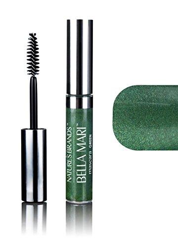 Bella Mari Natural Mascara, Green; 0.4oz