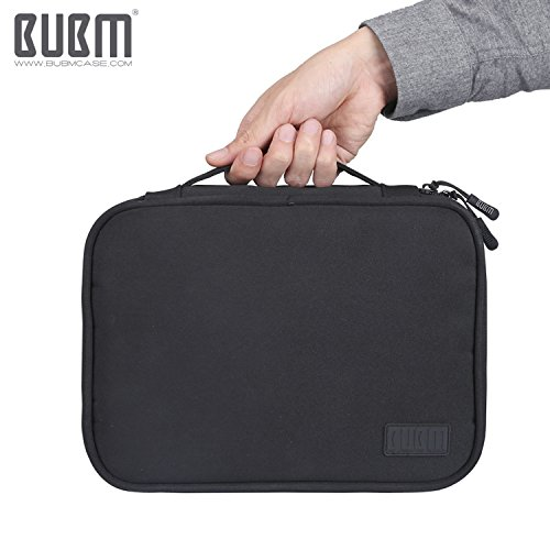 Travel Electronics Organizer Bag - BUBM Portable 3 pcs/Set Gadget Carrying Storage Bag,Cable Organizer Cases for USB Cables, Hard Drive,Memory Card,Power Bank,External Flash,2 Year Warranty by BUBM (Image #9)