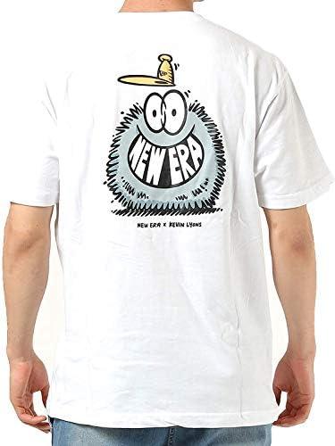 メンズ 半袖 コットン Tシャツ ケヴィン・ライオンズ Kevin Lyons オリジナルロゴ レギュラーフィット ホワイト12362075