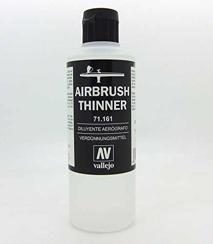 Vallejo Airbrush Thinner 200ml (Best Badger Air-brush Acrylic Paints)