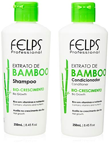 Xmix Bamboo Kit Duo Home Care 2X250 ml, Felps, 500ml