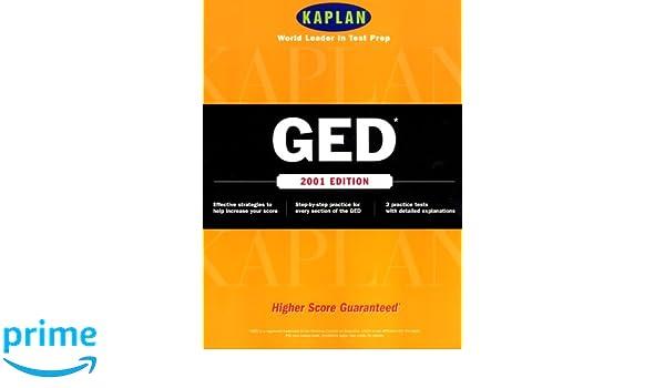 Kaplan GED 2001 (Ged (Kaplan), 2001): Kaplan: 9780684873473: Amazon
