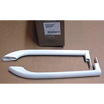 Delicieux Electrolux Frigidaire Refrigerator U0026 Freezer Door Handle Set White  5304504507
