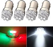 BA15D 90 1004 Led Bulb for Boat Navigation Lights Anchor Light Stern Light, Boat Lights Bow and Stern, Marine