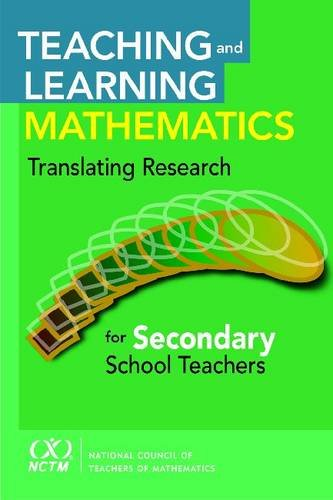 the teaching of mathematics should focus Reading in the mathematics classroom learn to use language to focus and work through problems  teaching, and leading so that every child is healthy, safe.
