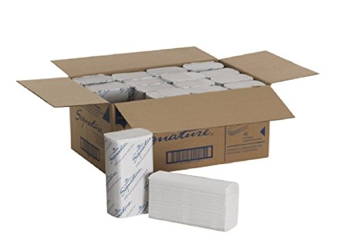 Georgia-Pacific Signature 21000 White 2-Ply Premium Multifold Paper Towel, (16 Packs Total; 125 Sheets/pack) New!!!