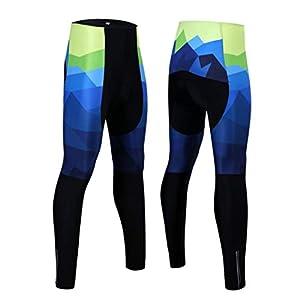 41XN2hTaGYL. SS300 OLEEKA Calzamaglia da Ciclismo Pantaloni Lunghi Calzamaglia Termica da Ciclismo Invernale Pantaloni da Bicicletta MTB…