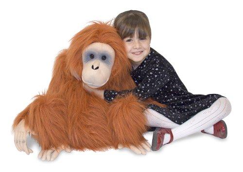 Melissa & Doug Giant Orangutan - Lifelike Stuffed Animal (nearly 2 feet tall)