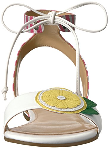 Las Stripe Jessie mujeres White Pink Katy The Perry Sandal 7wqRPR