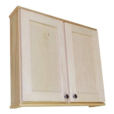 Shaker 29″ x 25.5″ Surface Mount Medicine Cabinet Size: 6.25″
