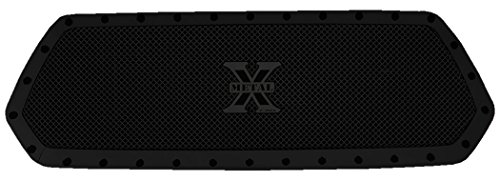 T-Rex 6719411-BR Main Grille Insert for Toyota Tacoma Stealth Metal Formed Mesh, 1 Piece All Blacked Out with Black Studs Br Chrome Grille Grill