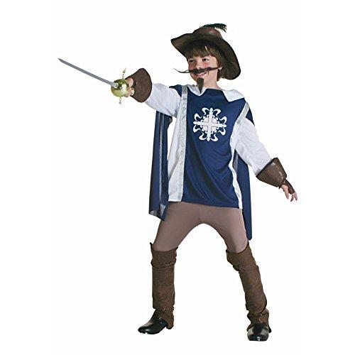 [Dongya The Three Musketeers Cosplay Costume Kids Clothes] (Three Musketeers Costume)