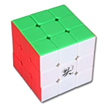 Dayan DYZH55 V 5 ZhanChi 3x3x3 Speed Puzzle Magic Cube 6-Color Stickerless